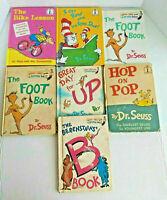 Lot of 7 DR. SEUSS HARDCOVER CHILDREN'S BOOKS SEE PHOTOS & DESCRIPTION