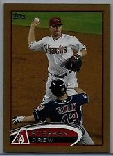 2012 Topps Mini #248 Stephen Drew SER 15/61 Gold Border NM/MT (Diamondbacks) !