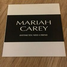 Mariah Carey - Anytime You Need A Friend - Promo CD *RARE*