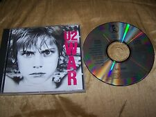 U2 : WAR CD ALBUM NO BAR CODE CID 112 SONOPRESS SUNDAY BLOODY SUNDAY NEW YEAR'S