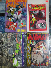 Madman Comic Sampler Lot of 4 Dive into Mike Allred's Insane World and Have Fun!