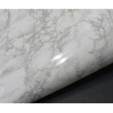"""Countertop White Faux Marble NOT your Grandma's Con-Tact Brand 36''x 72"""" Roll"""