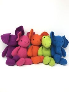 Lot Jellycat London Vivi Pig, Elephant, Crocodile, Bunny, Mouse