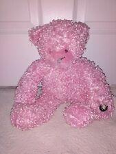 Cepia Gloe Glo Glow E Stuffed Plush Pink Color Kinetic Changing Teddy Bear