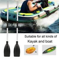 2PS Aluminium Boat Oars Dinghy Canoe Raft Kayak Durable Paddles Blades Rafting Q