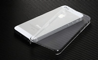 New Glossy Crystal Clear Hard Plastic Back Case Cover Skin For Apple iPhone 5 5S