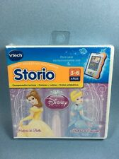 Vtech Storio Princesas Disney Bella y Cenicienta Princess Spanish Game Español
