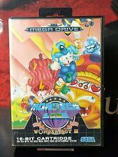 MONSTER LAIR WONDER BOY III 3 SEGA Mega Drive pal << COMPLETO >>