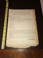 2 United States Civil Service Commission Historic Documents 1894 & 1896- UTAH