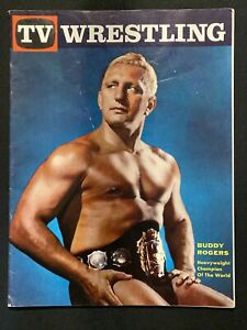 TV Wrestling Magazine - 1960 - Buddy Rogers on Cover