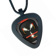 Back To The Future Flux Capacitor Pickbandz Mens or Womens Guitar Pick Necklace