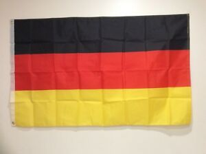 Germany National Team Soccer Supporters Flag