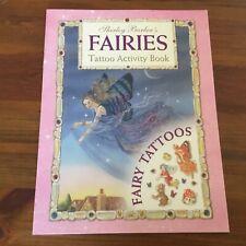 SHIRLEY BARBER'S FAIRIES - TATTOO ACTIVITY BOOK PB 2001 (UNUSED AS NEW)
