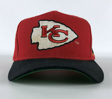 Kansas City Chiefs Sports Specialties Pro Line Authentic Snapback Hat Red Black