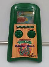 1991 Konami TMNT Teenage Mutant Ninja Turtles Basketball Handheld Game Works