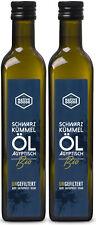 BIO Schwarzkümmelöl ägyptisch | UNGEFILTERT - kaltgepresst | native goods 1000ml