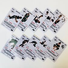 Bjj Kids Cards: White belt curriculum cards 1-12 (Pack 1 of 2)