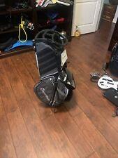 TaylorMade Tour Lite Stand Golf Bag - Grey, Black, White. Read description