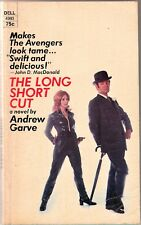THE LONG SHORT CUT (1972) Andrew Garve - Dell #4993 Paperback - Confidence Trick