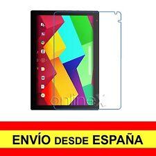"3x Protector Plástico para BQ AQUARIS E10 Wi-Fi y E10 3G 10.1""  Tablet 3xa1998"