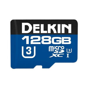 Delkin Devices Waterproof Action Hyperspeed (4k & 3D) Micro SD XC card