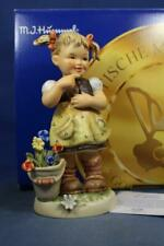 """Goebel Hummel """"What A Smile"""" #2214 First Issue Signed, Tmk8 Mib R15609"""