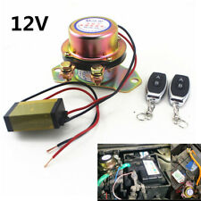 Car Battery Switch 2Pcs Manual Control Disconnect Latching Relay Solenoid Valve