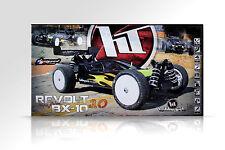 Hobbytech #rev.bx10.rtr1 PE 4wd BUGGY Revolt bx-10 3.0 RTR 2,4ghz BLU/GIALLO