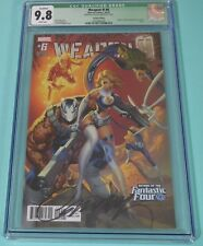 WEAPON H #6 Signed #60 SCOTT CAMPBELL Variant Marvel Graded CGC 9.8 NM/MT W/COA