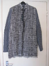 BNWT GUESS by Marciano Ladies Women Blazer Coat Wool Blend Grey Size 42 UK 8 10