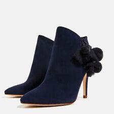 Zara Stiletto Suede Boots for Women
