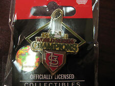 2011 World Series Trophy Pin - St. Louis Cardinals