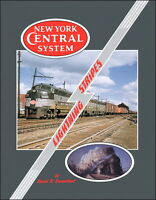 New York Central LIGHTNING STRIPES, Vol. 1 - 1950s -- (Out of Print NEW BOOK)