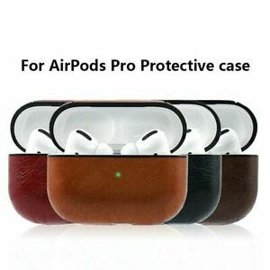 For Apple AirPods Pro PU Leather Case Cover Protective  Bluetooth Earpods 3 Case