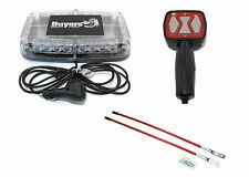 Snow Plow Blade Truck LED LIGHTBAR, HAND HELD CONTROLLER BLADE MARKERS Snowplow