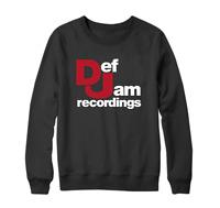 Def Jam Recordings Music Sweatshirt Retro Music Rap Hip Hop Iconic Urban Gift