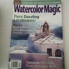 Watercolor Magic Magazine How To Get Stunning Results Summer 2000 061717nonrh2