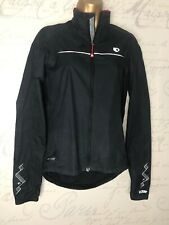 Pearl Izumi Elite Black Windstopper Breaker Cycle Soft She'll Jacket Coat Size S