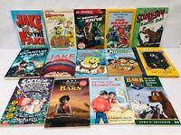 Chapter Book Lot 14 Kids Books Captain Underpants Lego Ninjago Hank the Cowdog