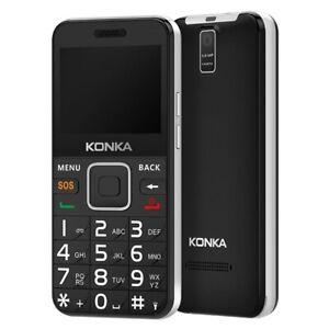 Konka U6} 3G, Keypad, 5MP Camera BIG BUTTON seniors ELDERLY phone SOS