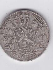 ** Leopold II - 5 Fr - 1874 - zilver -