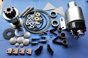 Premium Starter Rebuild Kit for International Farmall  1206D with Delco 1113647