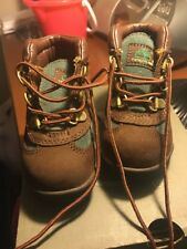 Timberland Field Boot Td Toddler 16837 Brown Waterproof Boots Shoes Baby SIZE 7