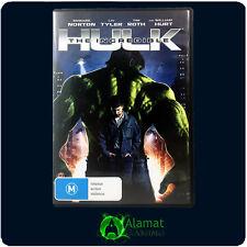 The Incredible Hulk (DVD) VGC - Edward Norton - Liv Tyler - Action - Adventure
