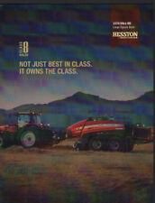 "Massey Ferguson Hesston ""2370 Ultra HD"" Large Square Baler Brochure Leaflet"