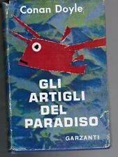 ADRIAN CONAN DOYLE, Gli artigli del paradiso, Garzanti 1955 I ed. ita.