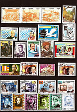 CAMBODIA 27 stamps new and obliterated: artistes celebrities various 5T6