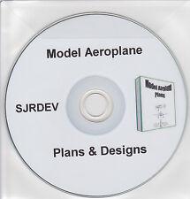 2800+ Model Aeroplane Plans on CD Hobbyist Planes Aero