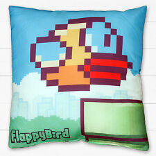 Flappy Bird Pipes Childrens Bedroom Accessory Home Decor Square Filled Cushion