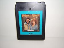 DAVID FRIZZELL & SHELLY WEST-CARRYIN' ON THE FAMILY NAMES  8 TRACK TAPE, TESTED
